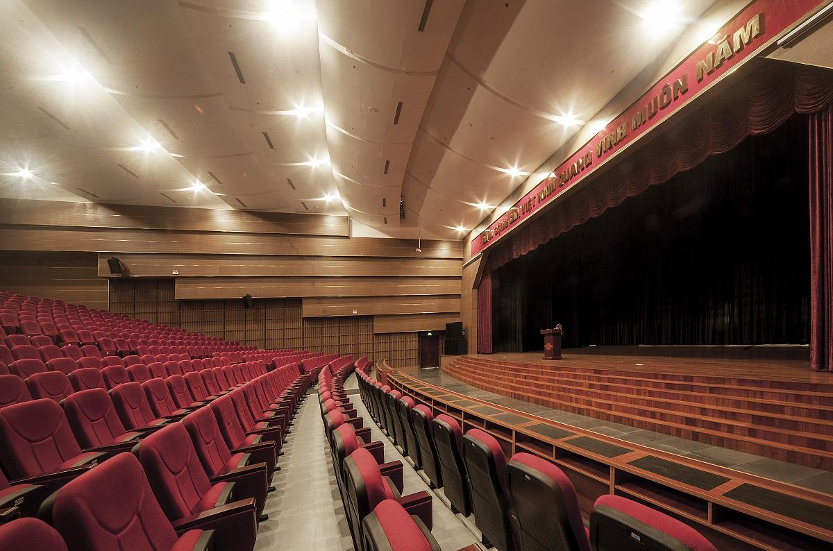 Nhà văn hóa sinh viên TP.HCM - vẻ đẹp của hình khối và tính bền vững | GK Archi – Nihon Sekkei.