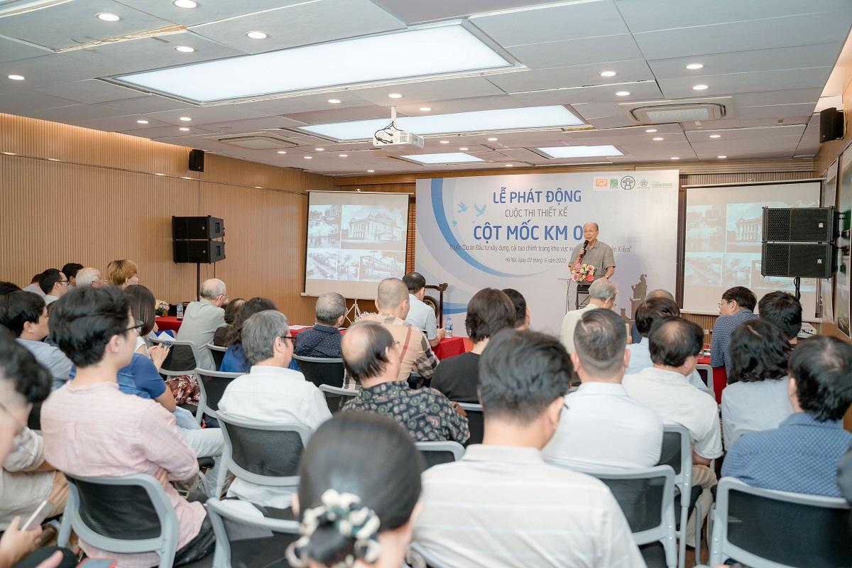 Phát động Cuộc thi Thiết kế Công trình Cột mốc Km0 ở Hồ Hoàn Kiếm