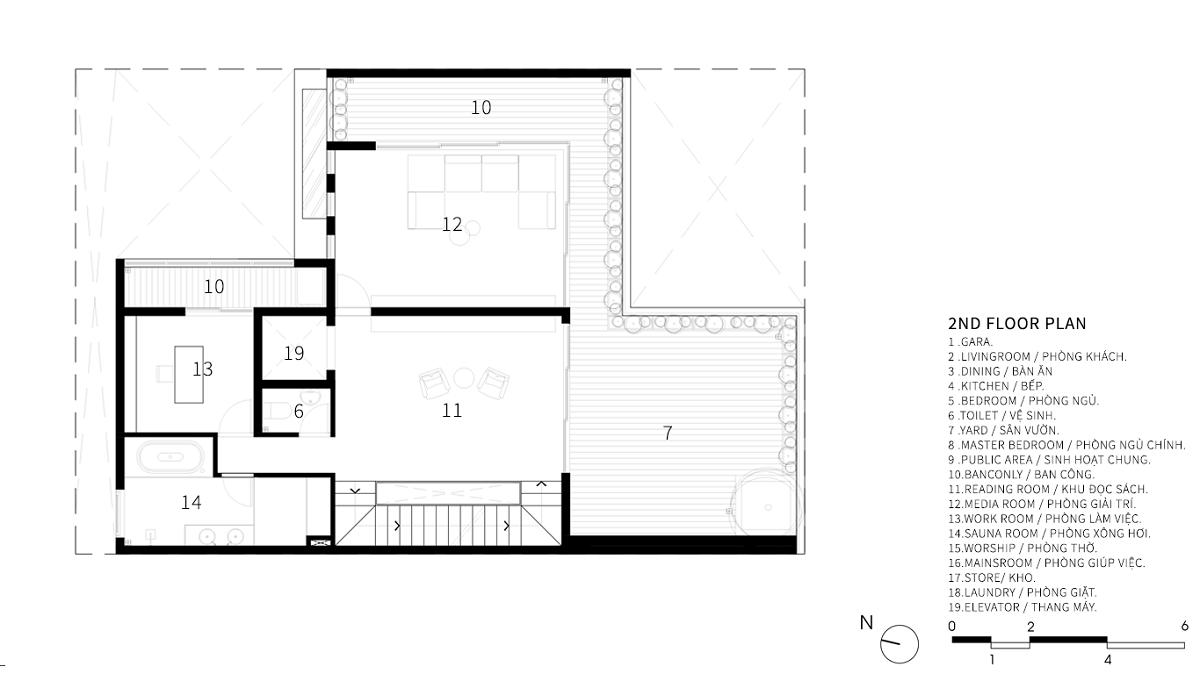 Trung Villa – Ngôi nhà 3 thế hệ   EVITArchitecture
