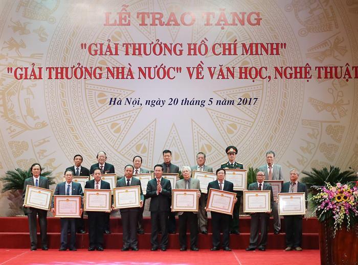 """Xét tặng """"Giải thưởng Hồ Chí Minh"""", """"Giải thưởng Nhà nước"""" về Văn học nghệ thuật năm 2021"""