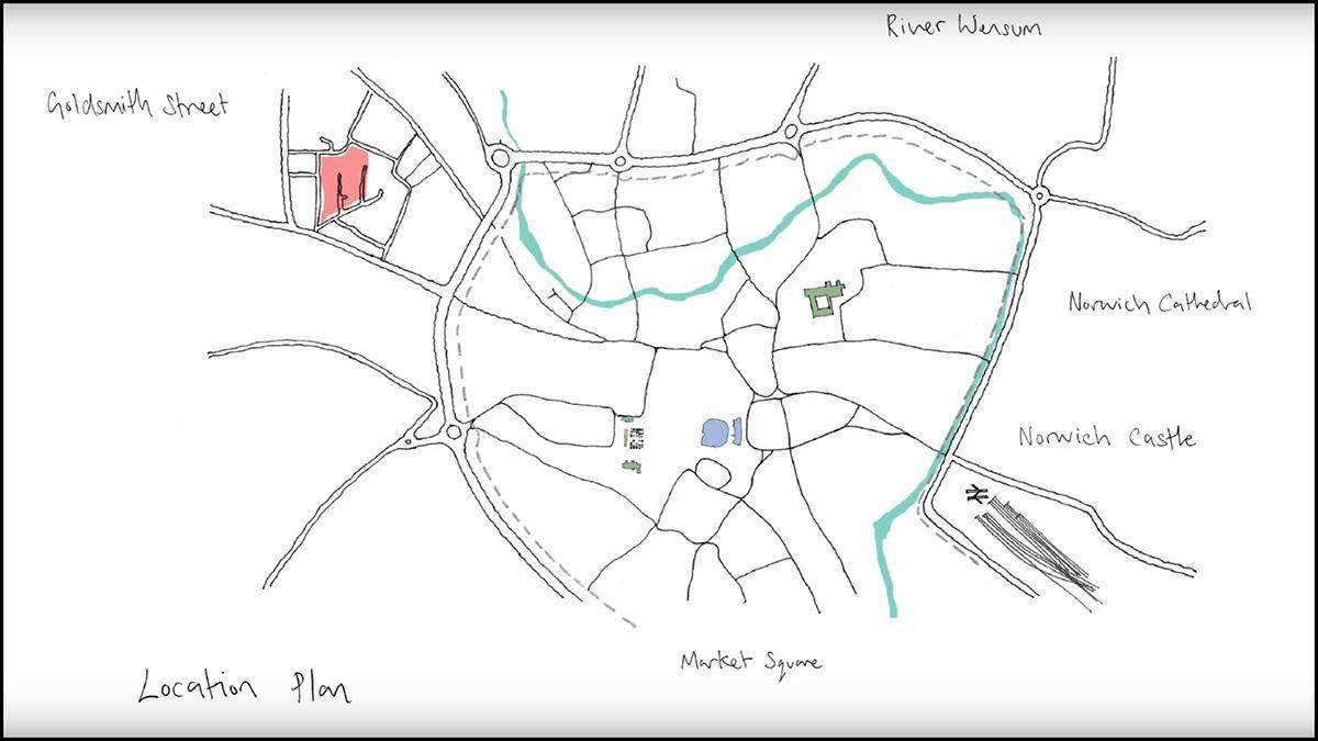 Cùng khám phá công trình đạt giải Stirling - Khu nhà ở Goldsmith Street bằng tour du lịch thực tế ảo 360