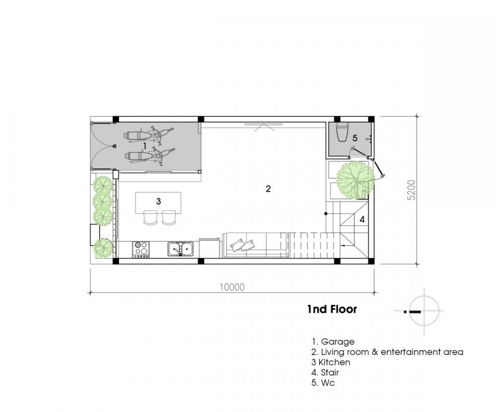 45 HOUSE – Ngôi nhà của những hoài niệm | Nhà của gió