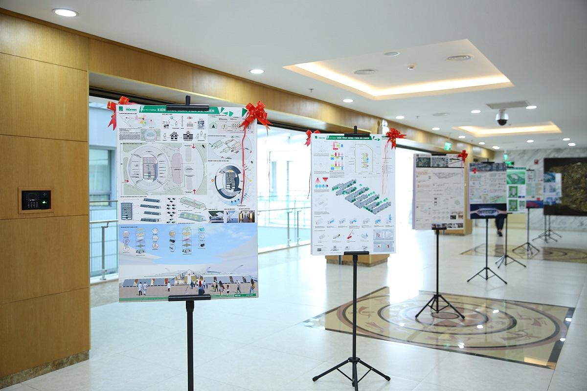 Lễ trao giải Cuộc thi thiết kế ý tưởng kiến trúc bệnh viện dã chiến