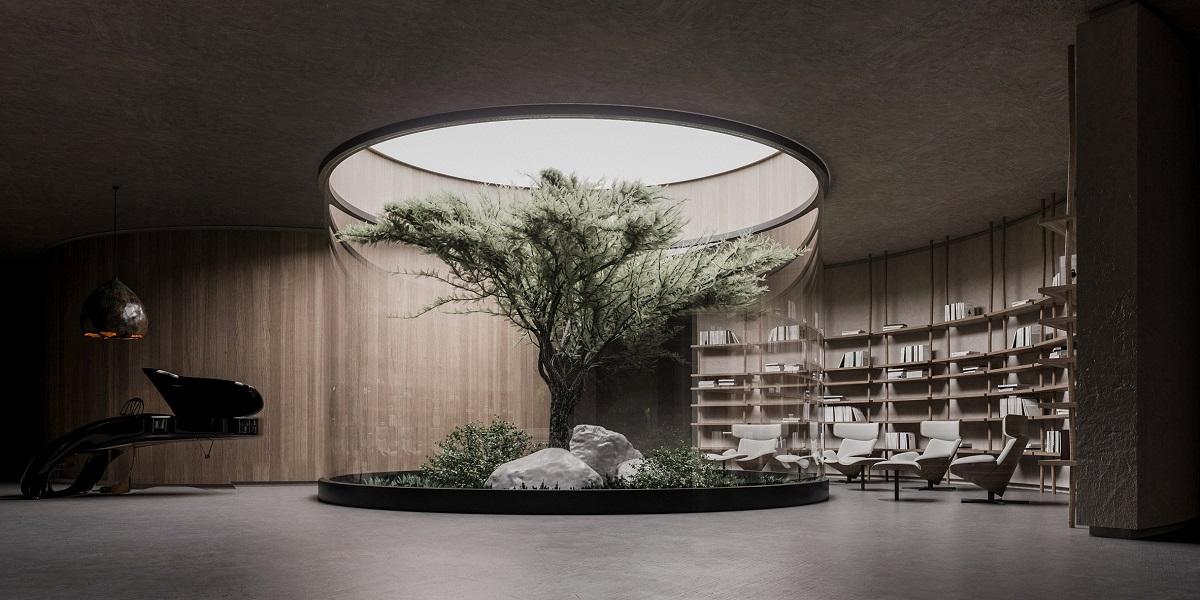 """""""Plan B"""": Nhà ngầm đối phó với đại dịch   Sergey Makhno Architects"""