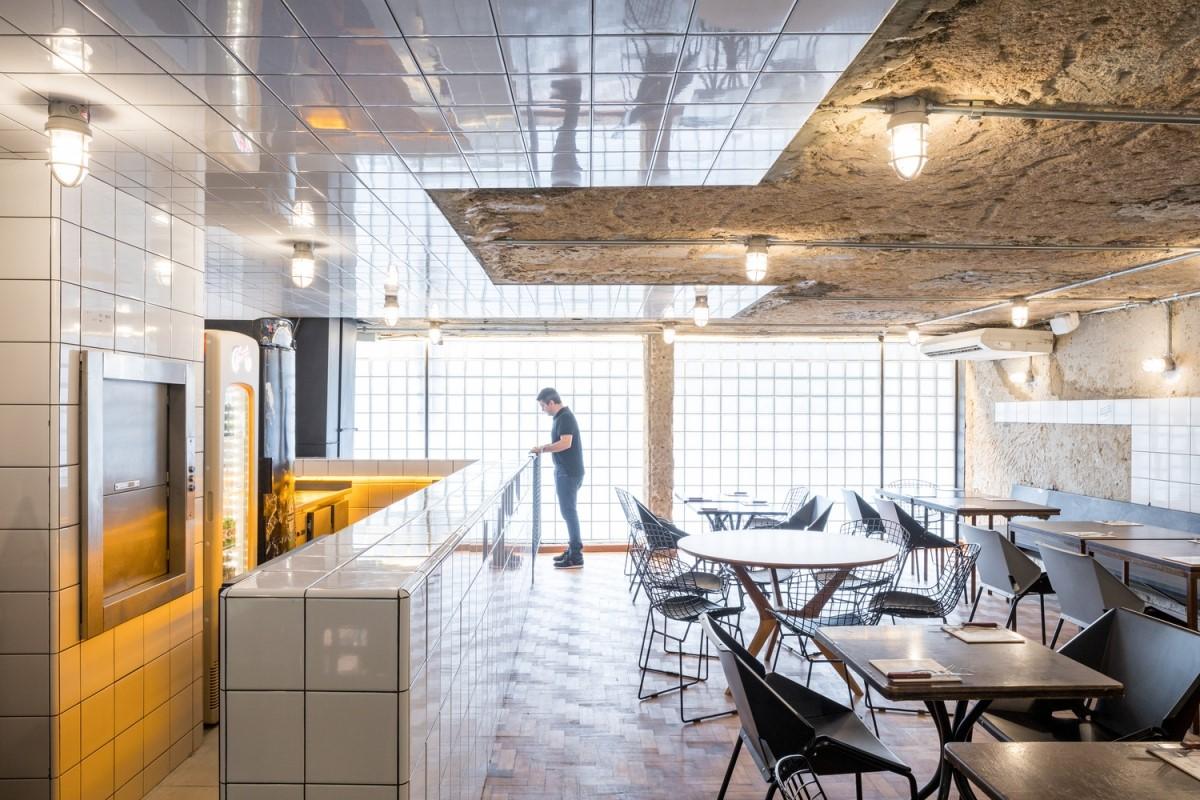 Burger Rico - sự sáng tạo từ mặt tiền đến sân sau | BLOCO Arquitetos