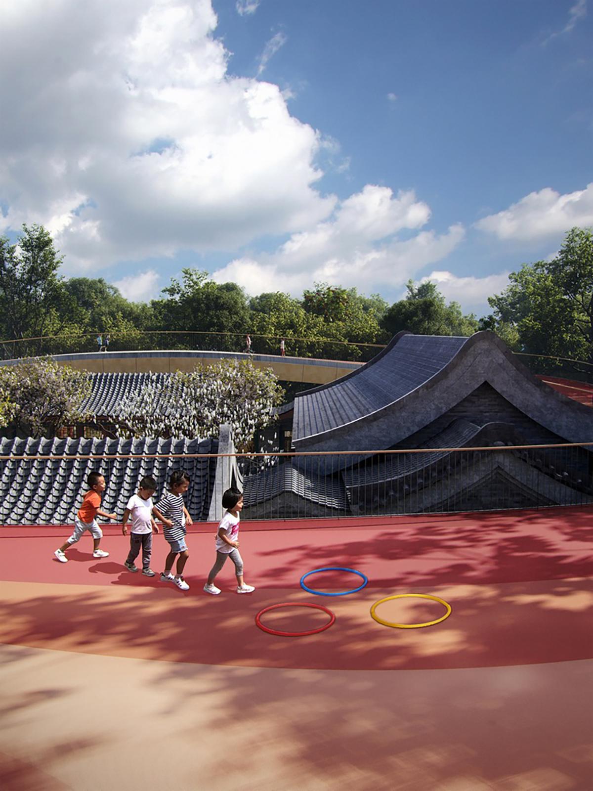 Courtyard Kindergarten - Ngôi trường giao thoa giữa truyền thống và hiện đại   MAD Architects