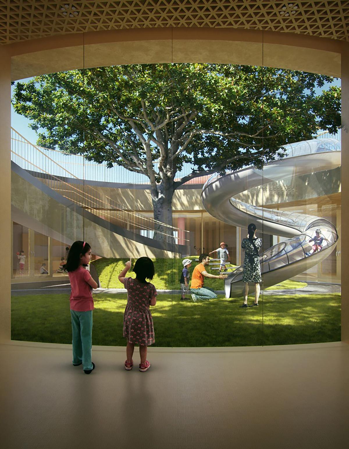 Ngôi trường giao thoa giữa truyền thống và hiện đại | MAD Architects