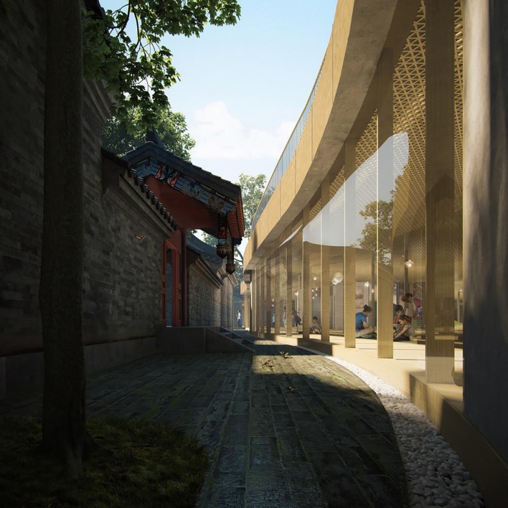 Courtyard Kindergarten - Ngôi trường giao thoa giữa truyền thống và hiện đại | MAD Architects