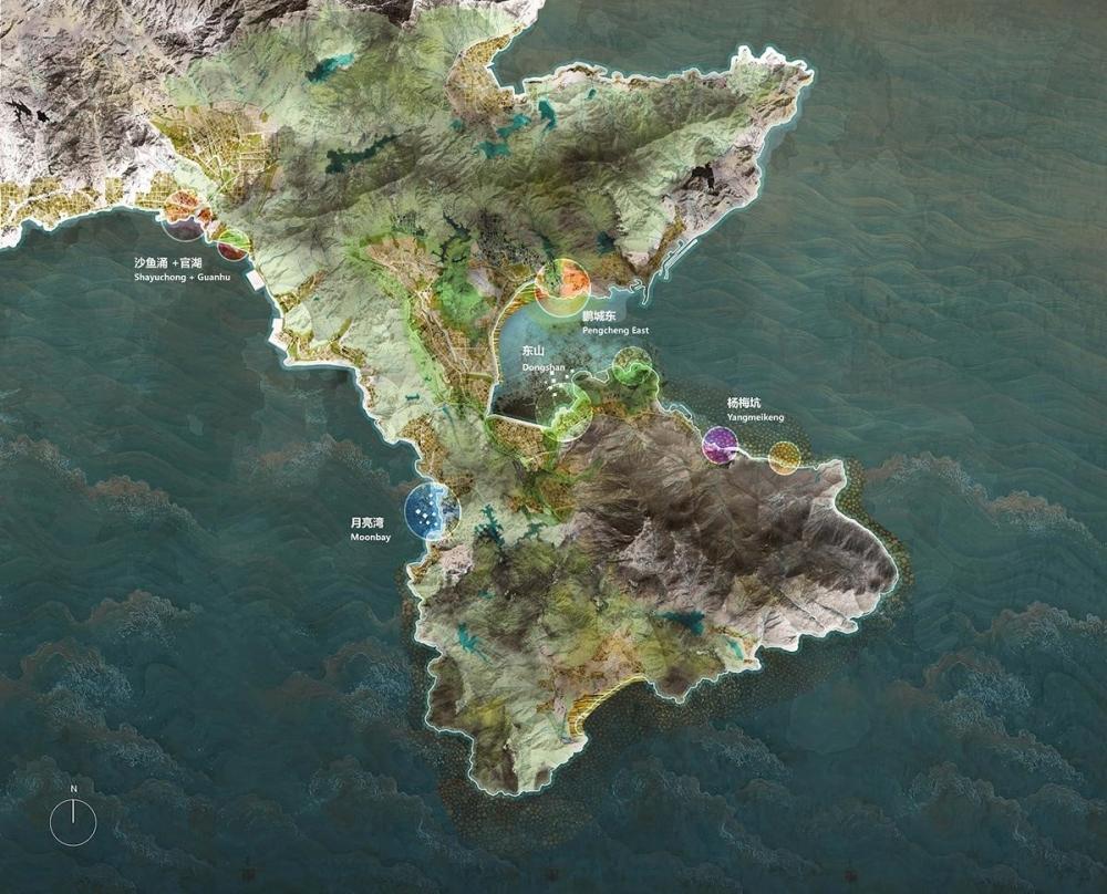 Giải pháp trùng kiến đê biển phía Đông Thâm Quyến | KCAP + FELIXX