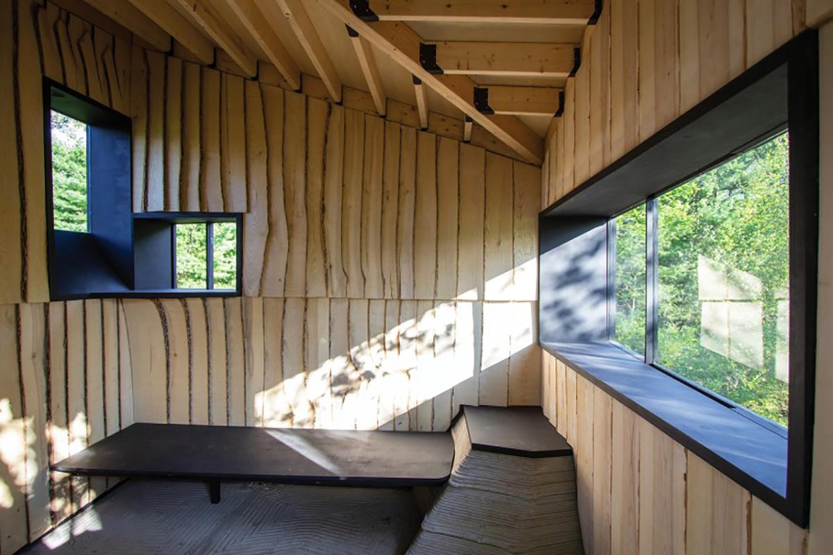 Ashen Cabin – Sự sáng tạo của con người trước ảnh hưởng từ thiên nhiên | Hannah Design Office