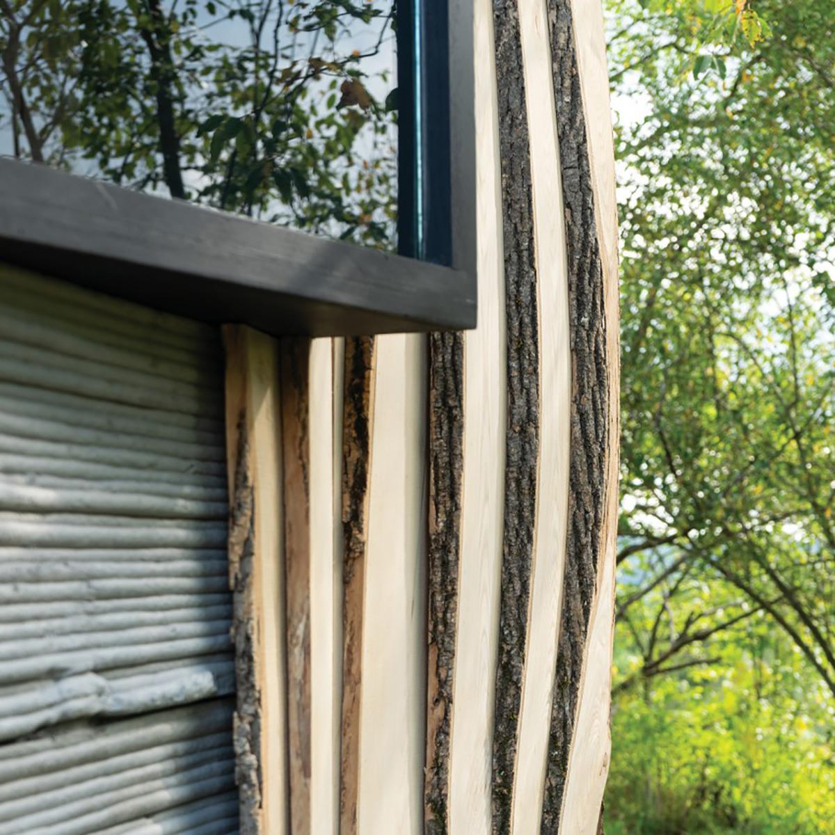 Ashen Cabin – Sự sáng tạo của con người trước ảnh hưởng từ thiên nhiên   Hannah Design Office