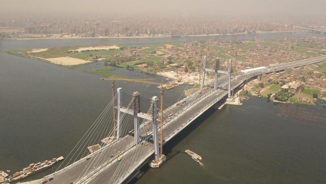 Cầu treo rộng nhất thế giới Rod al-Farag Axis – bước đột phá trong xây dựng của Ai Cập