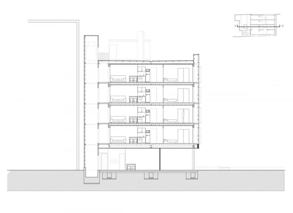 """Không gian 'sang chảnh"""" trong căn hộ """"tạm"""" được làm từ container"""