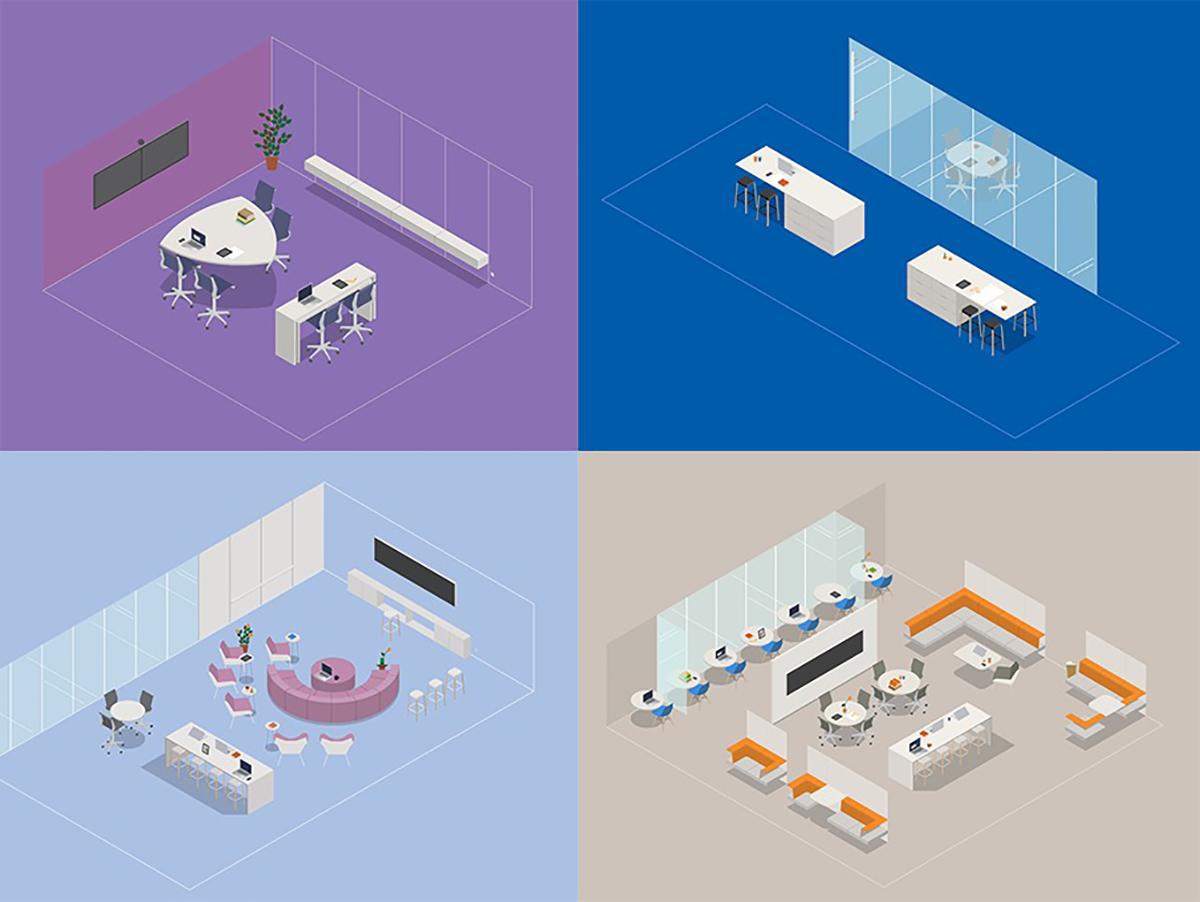 Làm thế nào để thiết kế không gian hội họp thoải mái và hiệu quả?