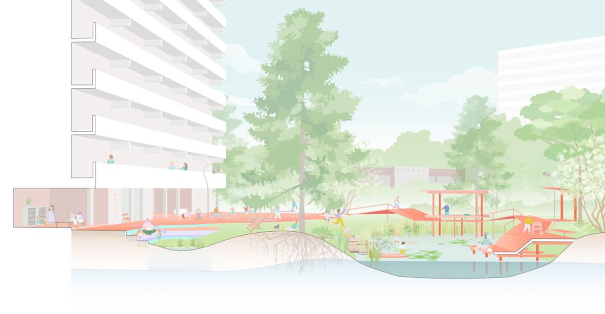 Thành phố đi bộ - Định hướng chuyển đổi cơ cấu giao thông đô thị tương lai
