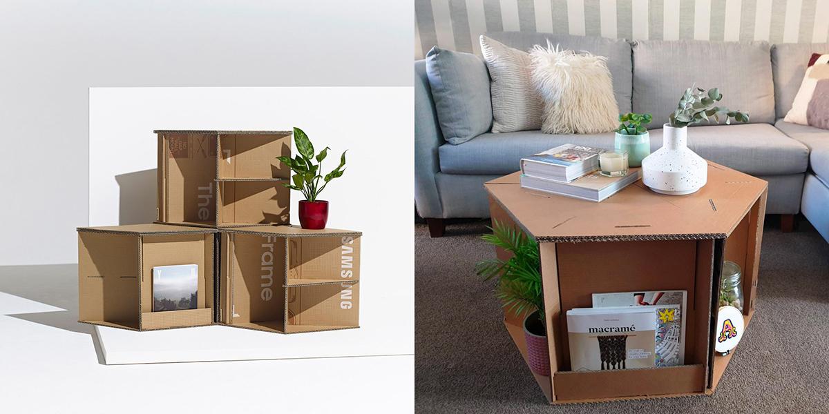 Dezeen x Samsung: Out of the Box – Tôn vinh các thiết kế sáng tạo từ bìa carton
