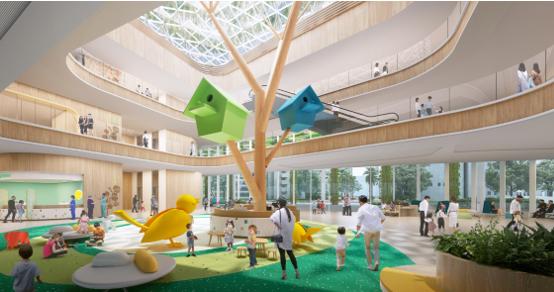 B+H công bố thiết kế Bệnh Viện Nhi và Tòa Nhà Khoa học - Giáo dục Thâm Quyến