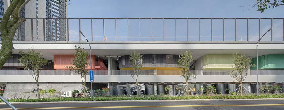 Trường Tiểu học Thực nghiệm Hồng Lĩnh - Mô hình trường học tương lai   O-office Architects
