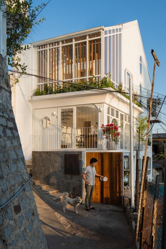 KOMOREBI - Những tia nắng xuyên qua kẽ lá   AD9 Architects