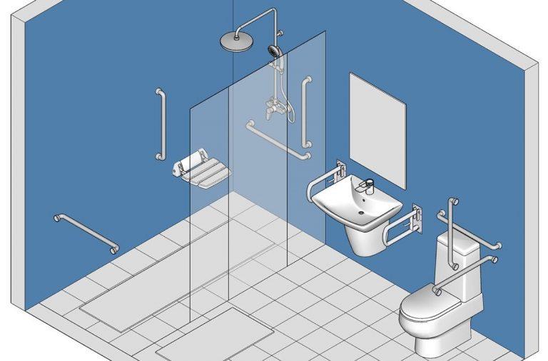 Làm thế nào để thiết kế phòng tắm an toàn cho người cao tuổi?