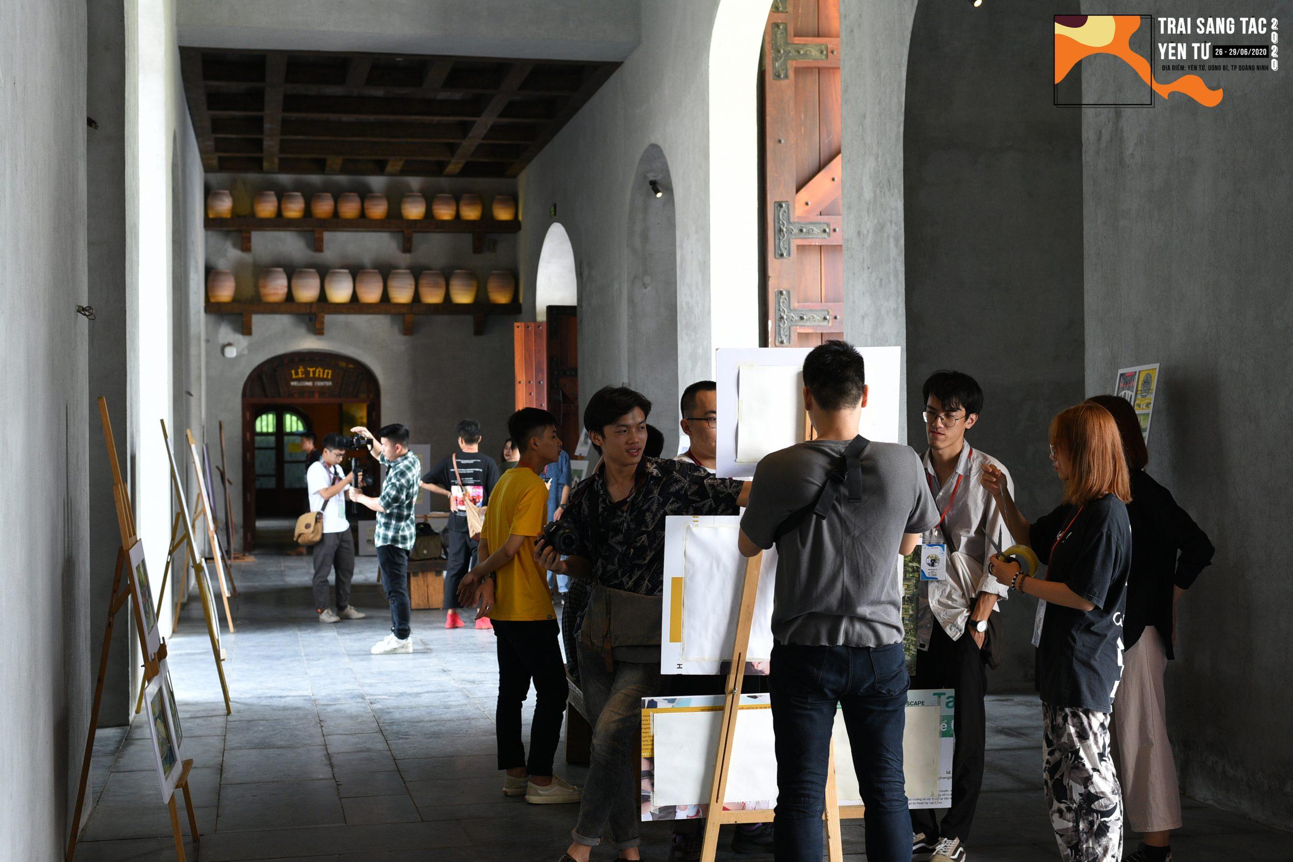 """""""Trại Sáng Tác Yên Tử 2020"""" – Trải nghiệm ý nghĩa của sinh viên Khoa Kiến Trúc & Quy Hoạch - ĐHXD"""