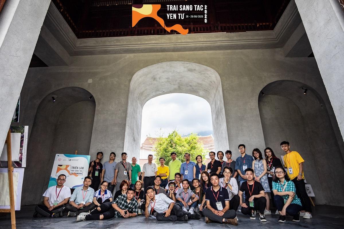 Trải nghiệm ý nghĩa của sinh viên Khoa Kiến Trúc & Quy Hoạch - ĐHXD