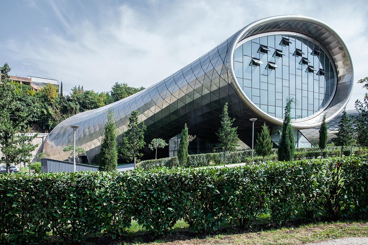 Trung tâm triển lãm và nhà hát Rhike Park - Chiếc kính viễn vọng của thành phố Tbilisi | Studio Fuksas