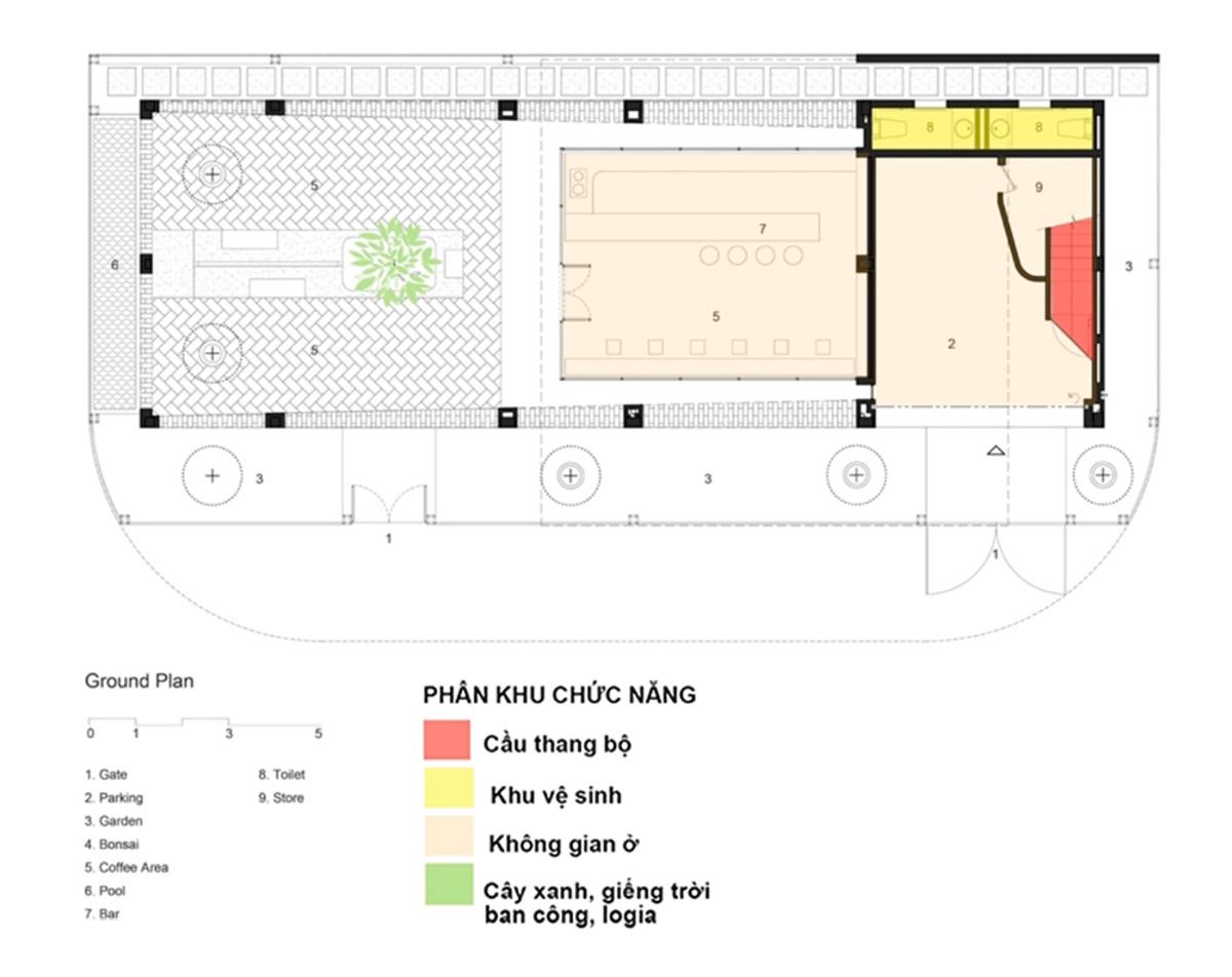 Giải pháp chuyển vị cầu thang bộ trong nhà ở Việt Nam hiện đại