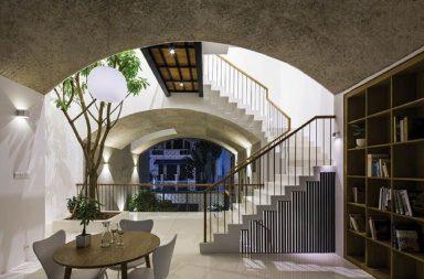 Ngôi nhà của những không gian vòm nổi bật tại Sài Gòn