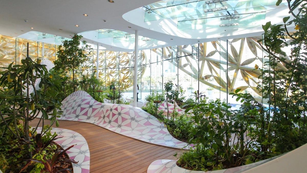 Butterfly Aviary - ngôi nhà bướm độc đáo với nét hồn thiên nhiên bên trong