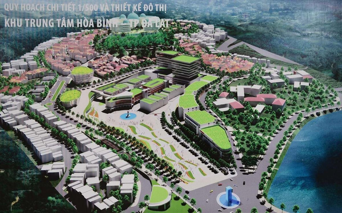 Quy hoạch khu Hòa Bình: Lại đề xuất bê tông hóa Đà Lạt