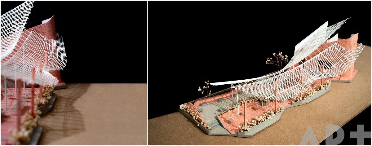 """MODANO coffee - Độc đáo quán cà phê với mái """"lơ lửng"""" trên khung thép mảnh I AD+studioMODANO coffee - Độc đáo quán cà phê với mái """"lơ lửng"""" trên khung thép mảnh I AD+studio"""