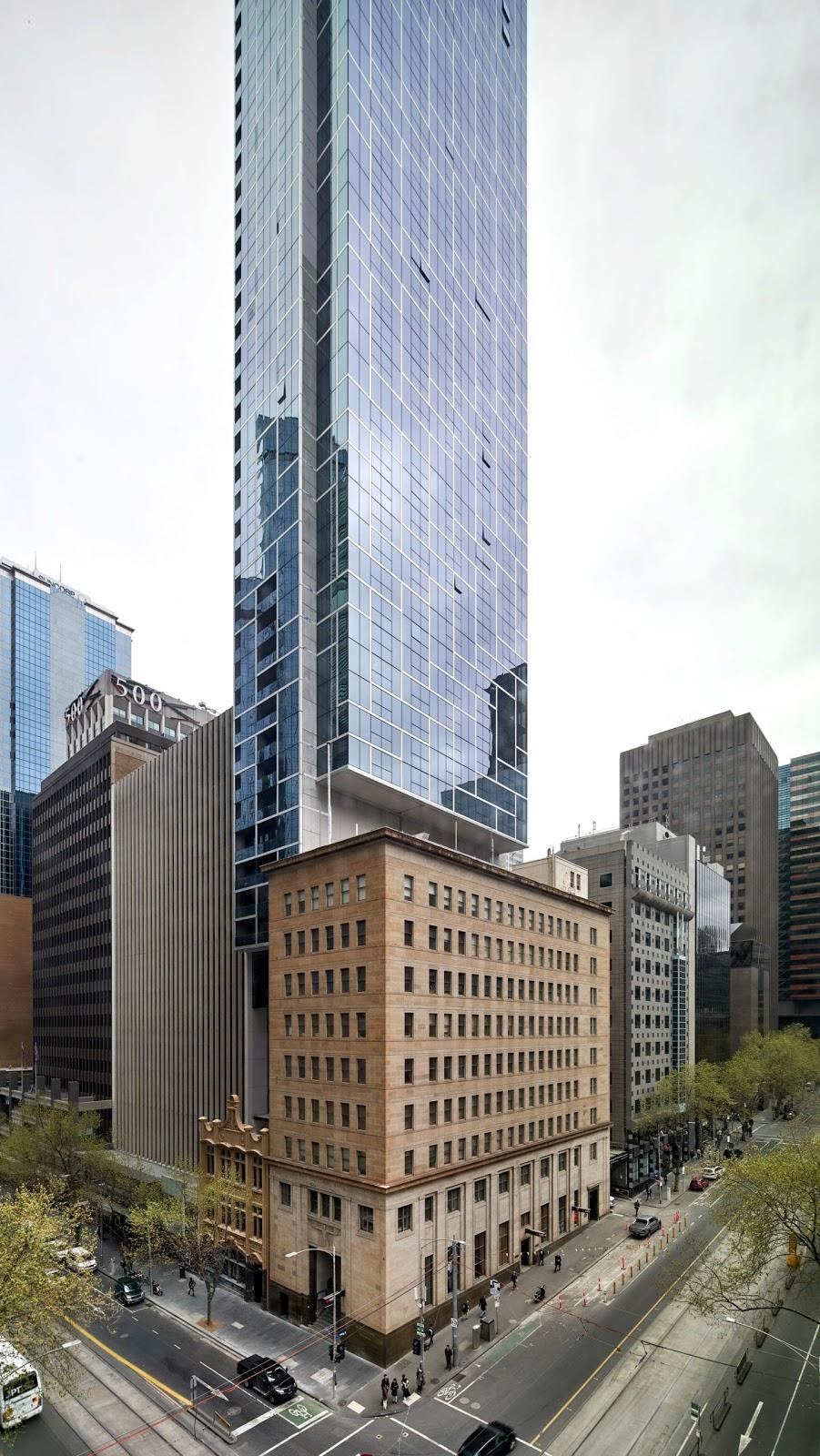 Bates Smart hoàn thành tòa nhà chọc trời chỉ rộng 11,5 mét