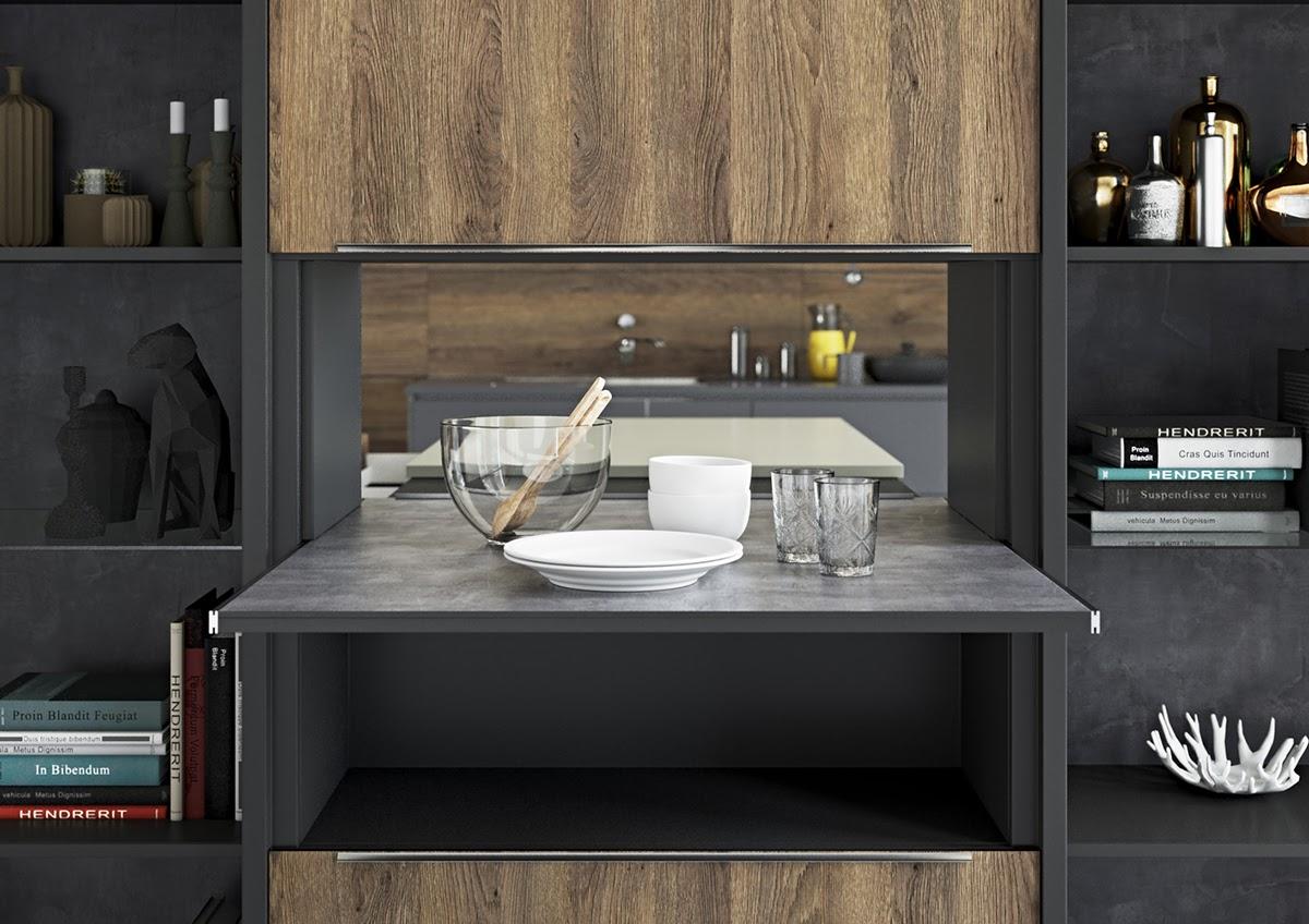 Bốn ý tưởng thiết kế nội thất tiết kiệm cho không gian bếp