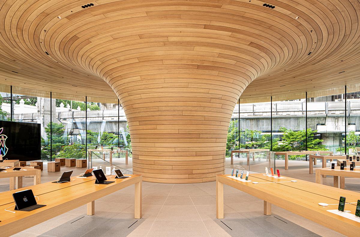 "Apple Central World – ""Tán cây"" giữa lòng Bangkok | Foster+Partners"