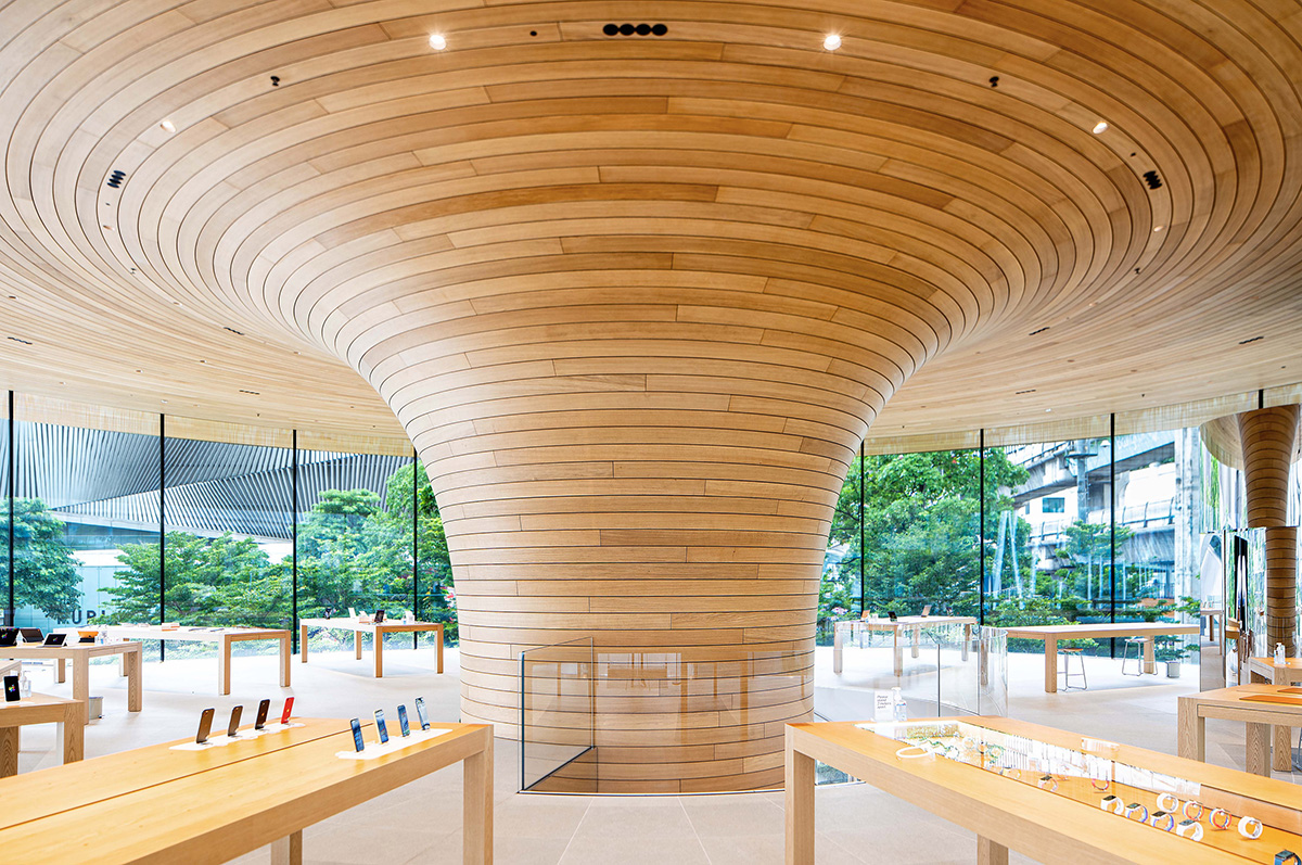 "Apple Central World – ""Tán cây"" giữa lòng Bangkok   Foster+Partners"