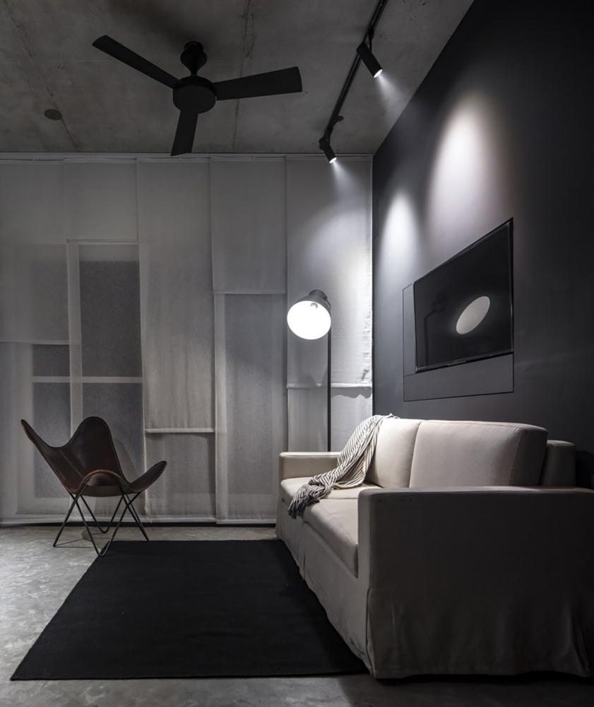 Căn hộ Shunyo – Vẻ đẹp của sắc đen | The Purple Ink Studio