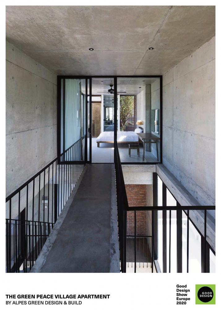 APLES Green Design & Build đạt 2 giải thưởng kiến trúc xanh - GREEN GOOD DESIGN 2020 | Ho Khue Architects