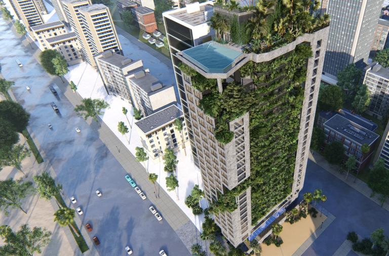 Khởi công khách sạn 25 tầng M Garden City, Đà Nẵng | Ho Khue Architects