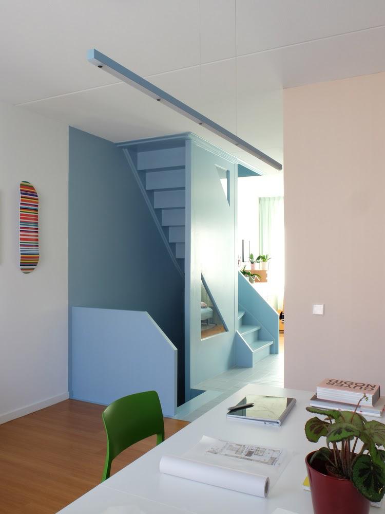 Work Home Play Home: Lời kể của sắc màu trong không gian đa chức năng