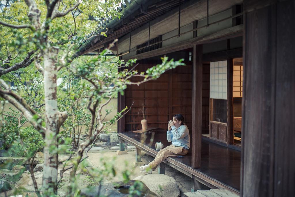 Hiên nhà người Nhật