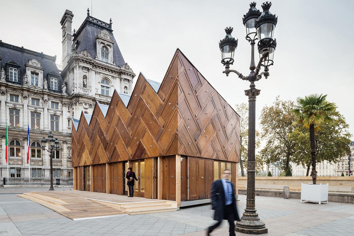 Nguyên tắc 3R được thể hiện như thế nào trong các công trình kiến trúc?