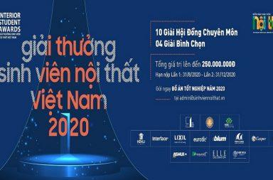 """""""Bom tấn"""" của ngành thiết kế Nội thất: Sự trở lại mới mẻ của Giải thưởng Sinh Viên Nội Thất Việt Nam 2020""""Bom tấn"""" của ngành thiết kế Nội thất: Sự trở lại mới mẻ của Giải thưởng Sinh Viên Nội Thất Việt Nam 2020"""