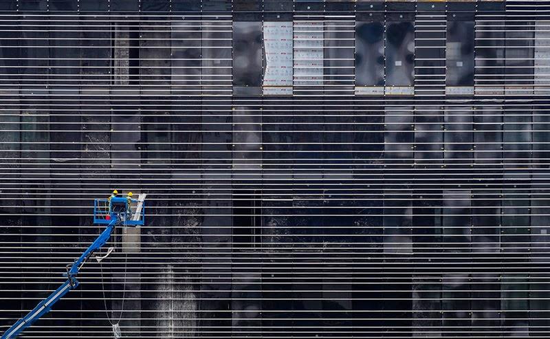 Trụ sở mới của Viettel với thiết kế độc đáo khi nhìn từ trên cao