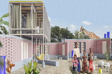 Nhà mô-đun: Giải pháp cho cuộc khủng hoảng nhà ở châu Phi