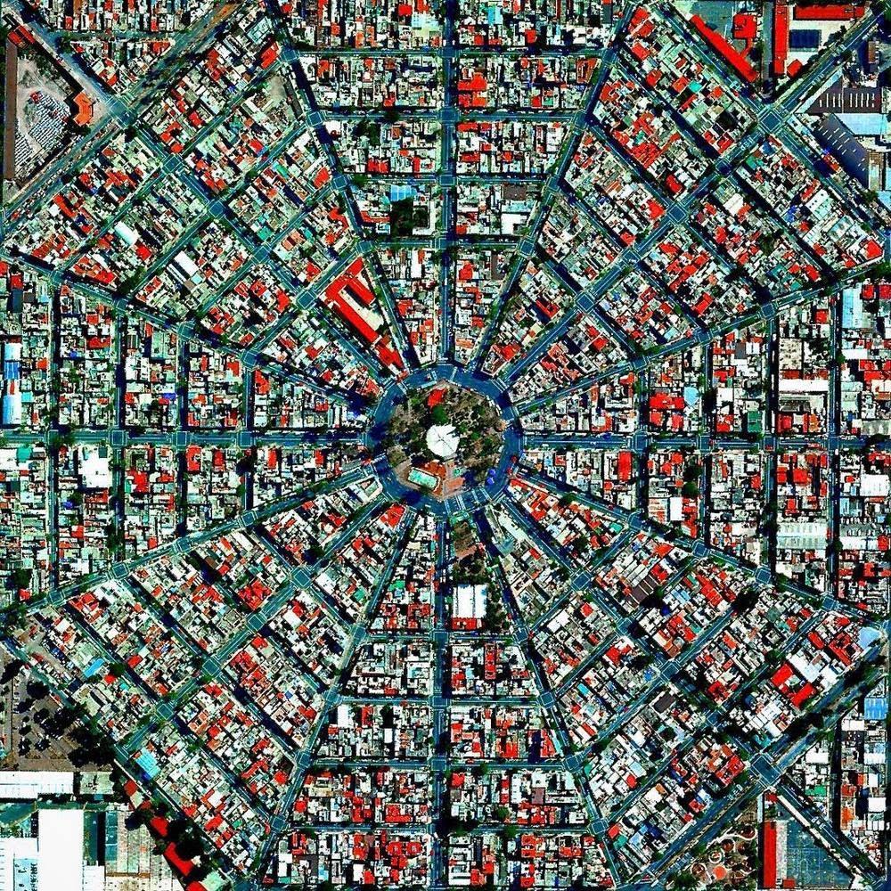 Không gian công cộng khu vực đô thị: 12 quảng trường từ trên cao nhìn xuống