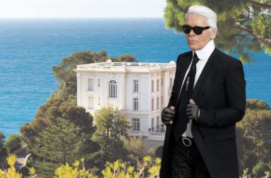 """La Vigie: Dinh thự bí ẩn của """"cha già"""" Karl Lagerfeld"""