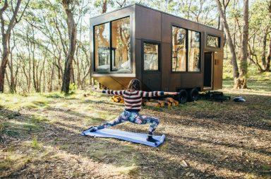 Nhà trên bánh xe: linh hoạt, lưu động, quy mô kiến trúc nhỏ gọn