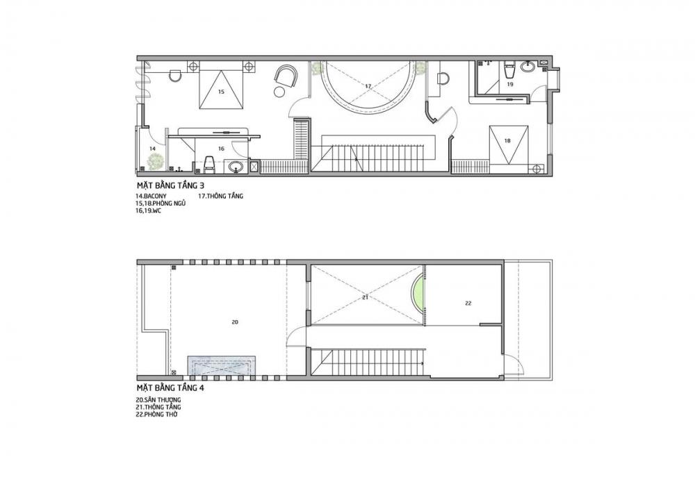 41 1000x1000 - Nhà trong thành phố - Giải pháp cho không gian sống với nhiều thành viên | Story Architecture