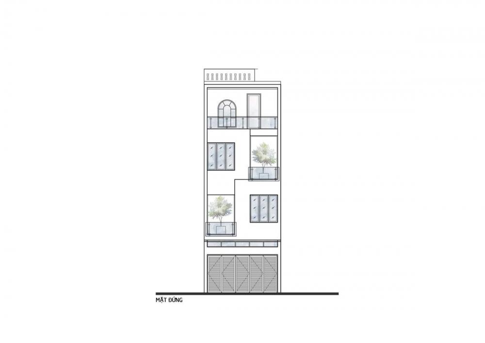 44 1000x1000 - Nhà trong thành phố - Giải pháp cho không gian sống với nhiều thành viên | Story Architecture